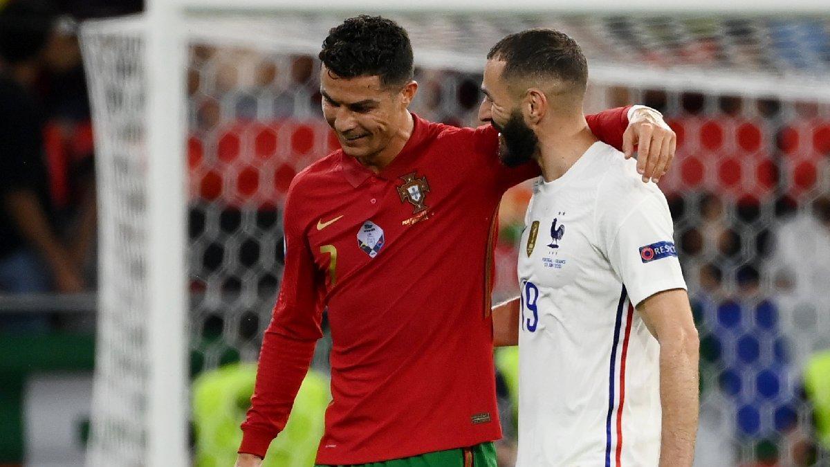 Fransa ve Portekiz el ele Son 16'da: 2-2 | EURO 2020 F Grubu