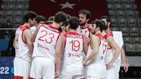 Türkiye A Milli Erkek Basketbol Takımı'nın Olimpiyat Elemeleri kadrosu belli oldu