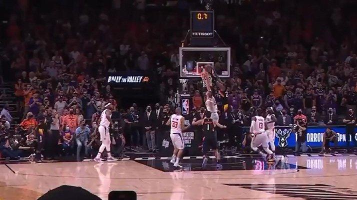Deandre Ayton'ın akılalmaz smacı ile Suns, Clippers'ı yıktı