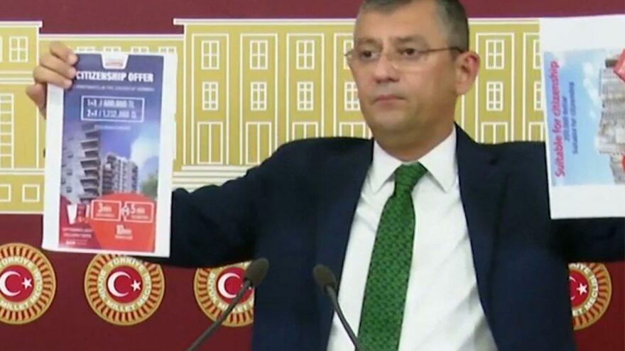 CHP'li Özel, 'ev alana pasaport' ilanlarıyla MHP'lilere seslendi