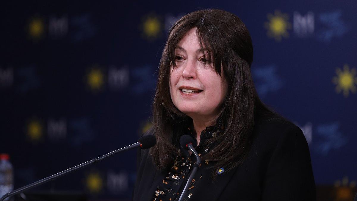 İYİ Partili Şenol Sunat Kadına Şiddet Komisyonu'ndan ayrıldı