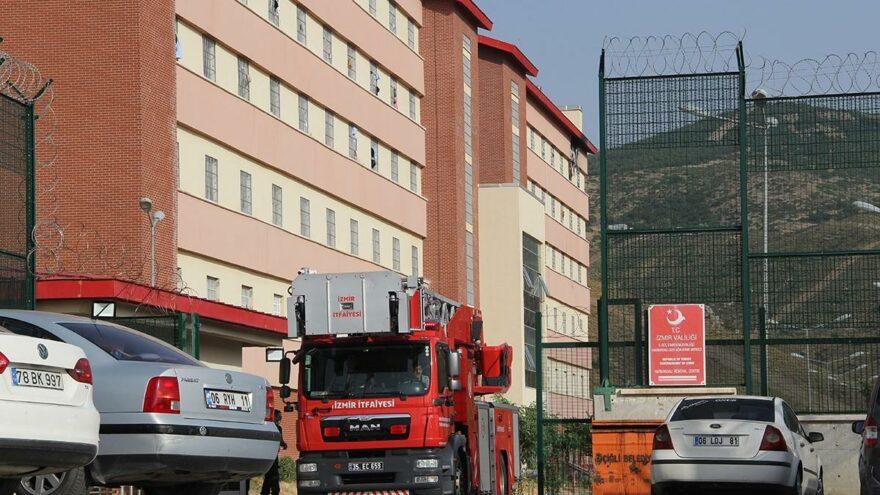 Geri Gönderme Merkezi'nde yangın: 1 ölü
