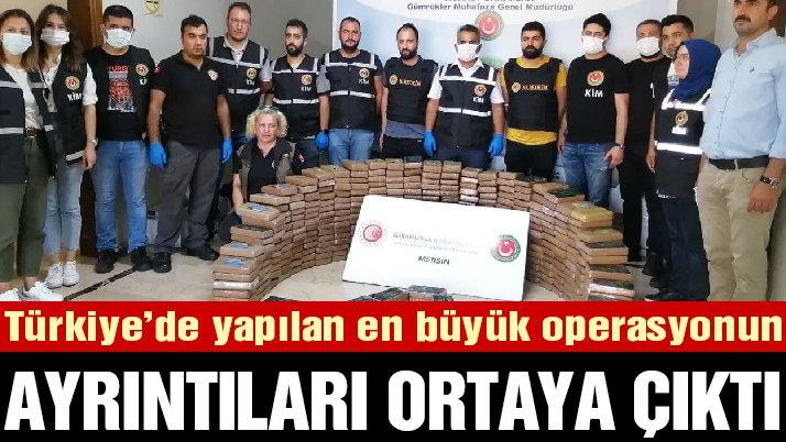 Türkiye'de yapılan en büyük kokain operasyonların ayrıntıları ortaya çıktı…