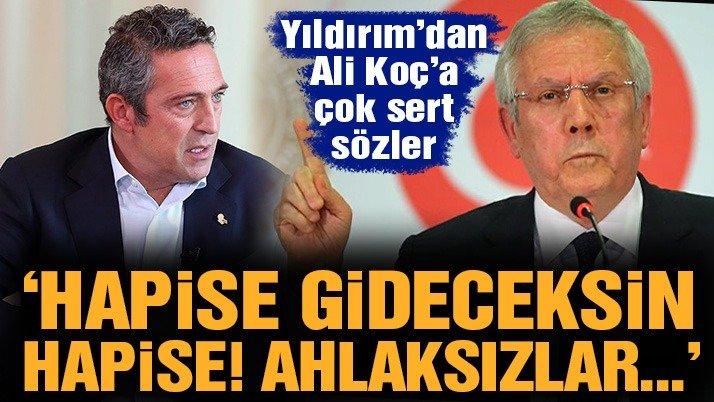 Aziz Yıldırım'dan başkan adaylığı açıklaması ve Ali Koç'a olay sözler: 'Ahlaksızlar'