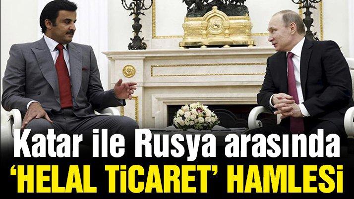 Rusya'dan Katar'a helal et ihracatı