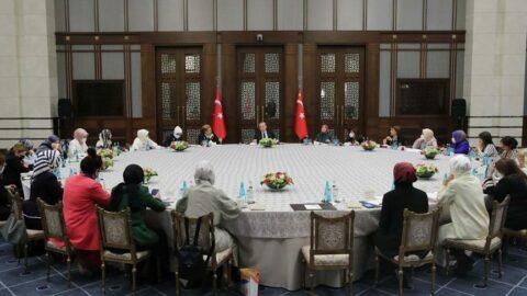 Cumhurbaşkanı Erdoğan, 'Kadına Karşı Şiddetle Mücadele' konulu toplantıya başkanlık etti