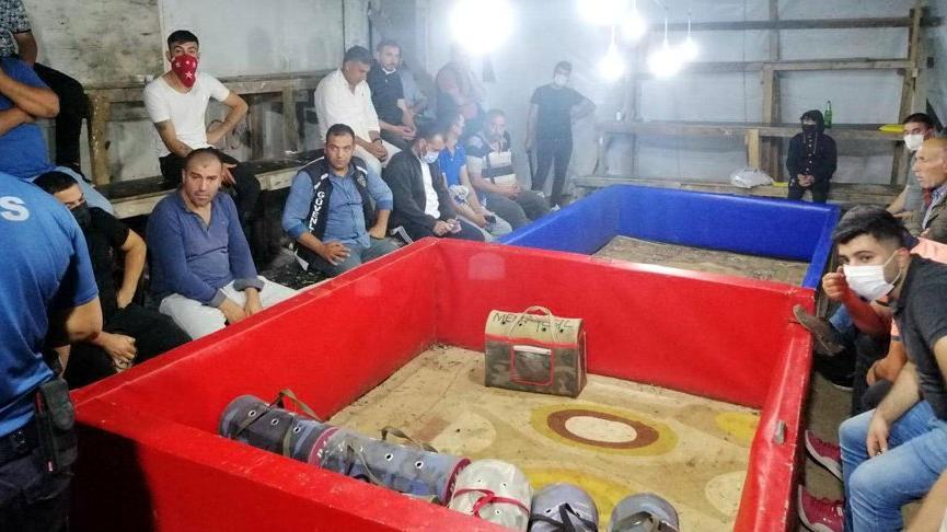Horoz dövüştürüp bahis oynayan 23 kişiye 76 bin 626 TL ceza