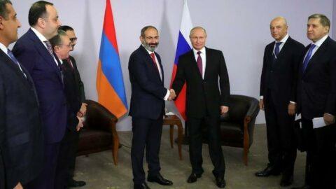 Seçimi kazanan Paşinyan'a Putin'den tebrik
