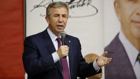 Mansur Yavaş'tan Yemeksepeti CEO'su Nevzat Aydın'a yanıt