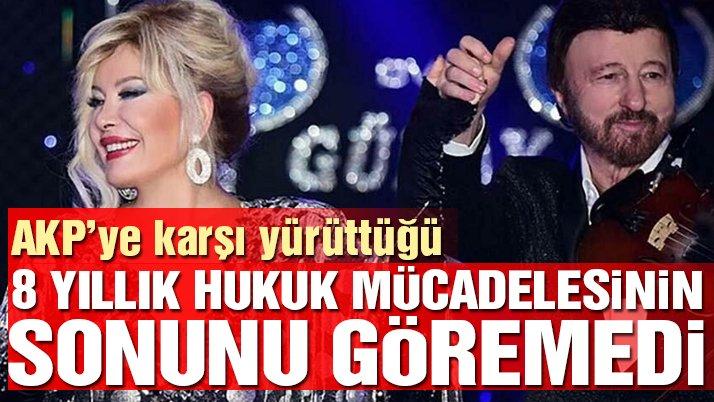 Ünlü besteci, AKP'ye karşı yürüttüğü 8 yıllık hukuk mücadelesinin sonunu göremedi