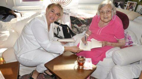 'Sümer Kraliçesi' 108'inci yaş gününü kutladı