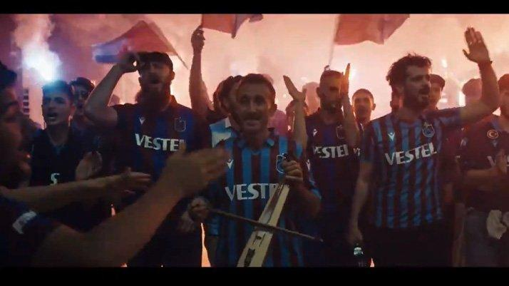 Trabzonspor'un 'Kemençe'nin rüyası' videosu yayımlandı