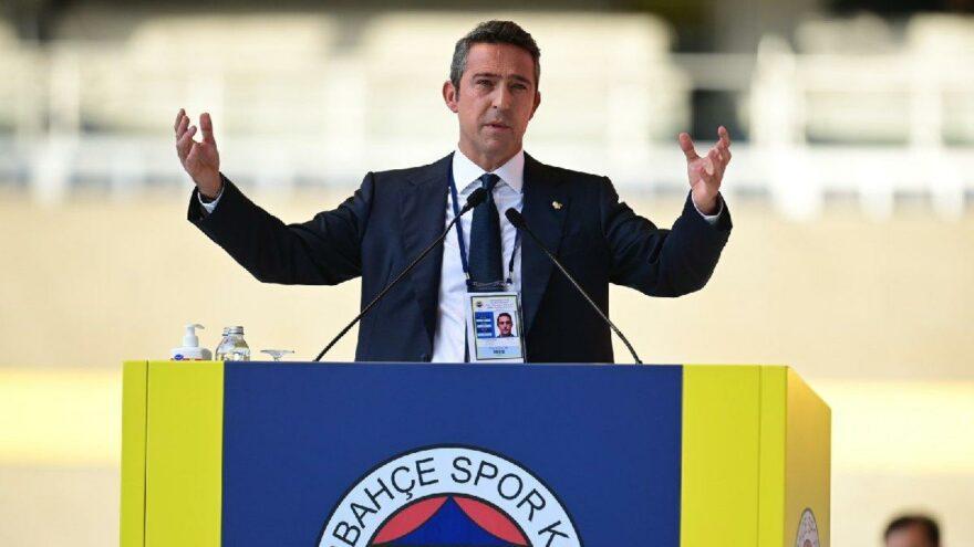 Fenerbahçe Başkanı Ali Koç'tan çok sert açıklama: Tutarsız, küstah, dengesiz…