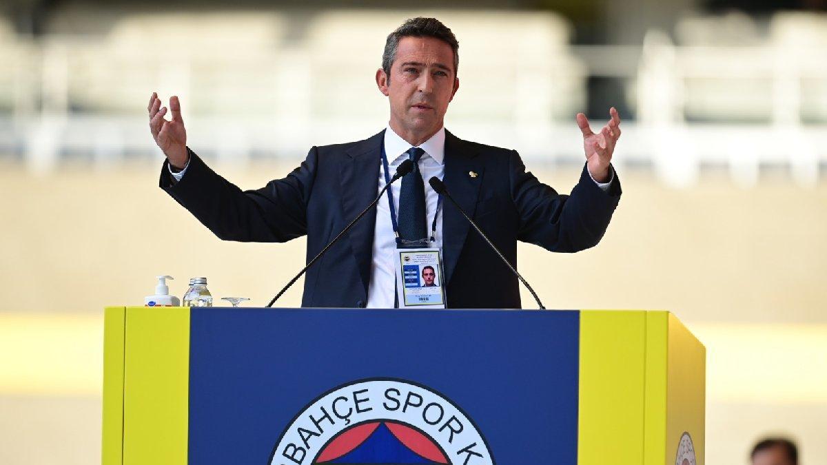 Fenerbahçe Başkanı Ali Koç'tan çok sert açıklama: Tutarsız, küstah, dengesiz...