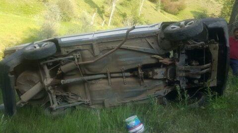 Feci kazada 1 kişi öldü, 4'ü çocuk 6 kişi yaralandı