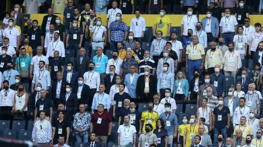 Fenerbahçe'nin 2021 yılı bütçesi ve borçlanması kabul edildi