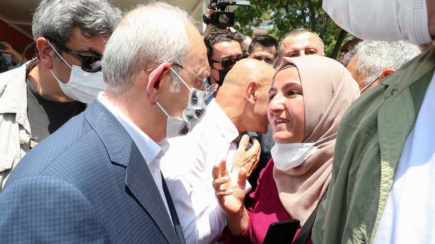 Kılıçdaroğlu depremzedelerle bir araya geldi, Cumhurbaşkanı Erdoğan'a çağrı yaptı