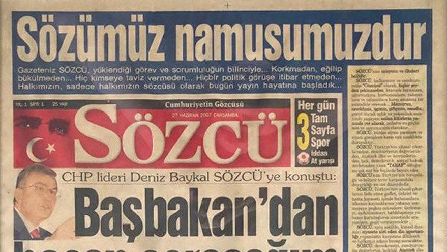 SÖZCÜ Gazetesi 15 yaşına girdi