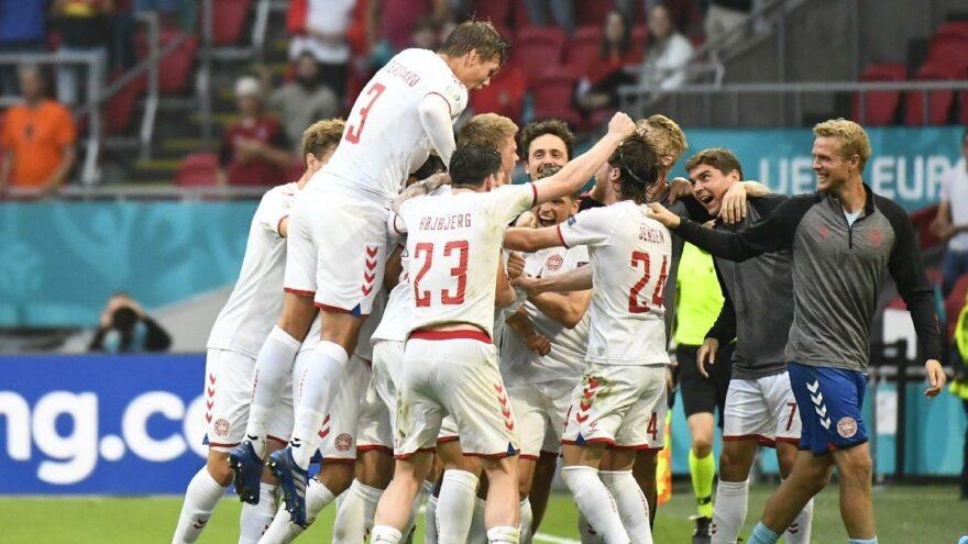Danimarka-Galler maçı sonrası EURO 2020'de ilk çeyrek finalist belli oldu