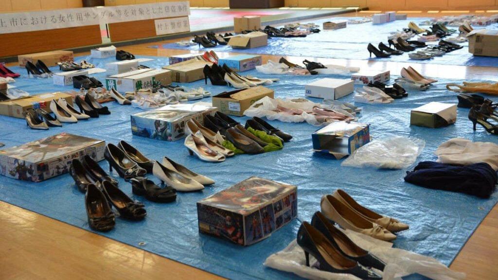Japonya'da 139 çift ayakkabı çalan hırsız: Kokusunu seviyorum