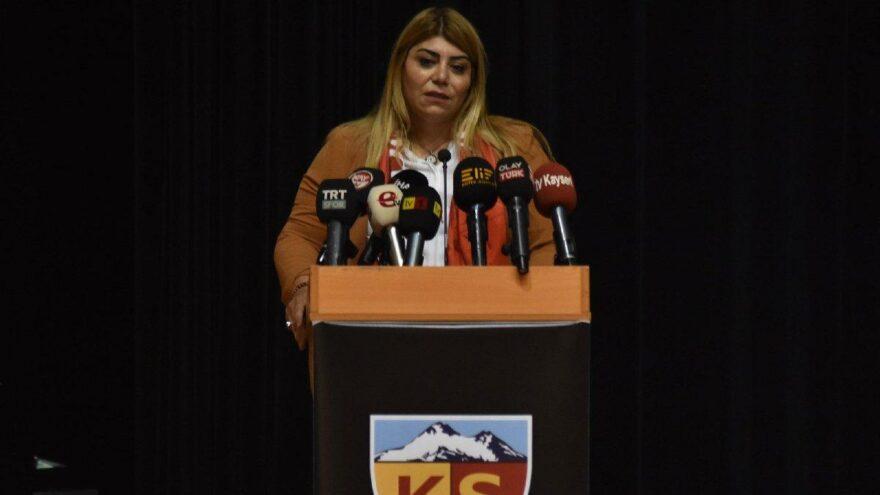 Kayserispor Başkanı Berna Gözbaşı güven tazeledi
