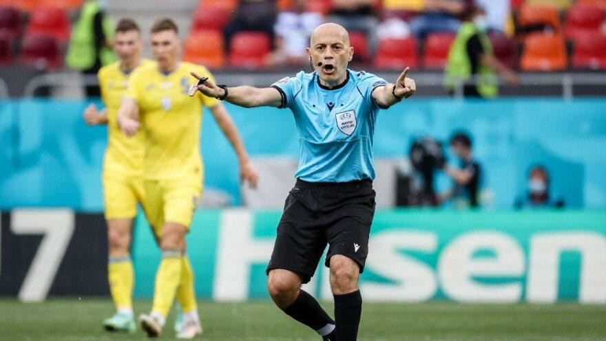 EURO 2020'deki kritik maç Cüneyt Çakır'ın