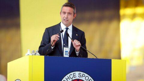 Fenerbahçe'de başkanlık seçimine tek aday olarak giren Ali Koç başkan seçildi