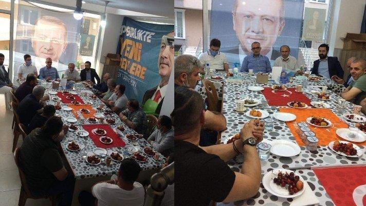Bayrağa saygısızlık yapan AKP'lilere suç duyurusu
