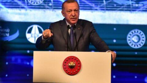 Erdoğan'ın yine dili sürçtü
