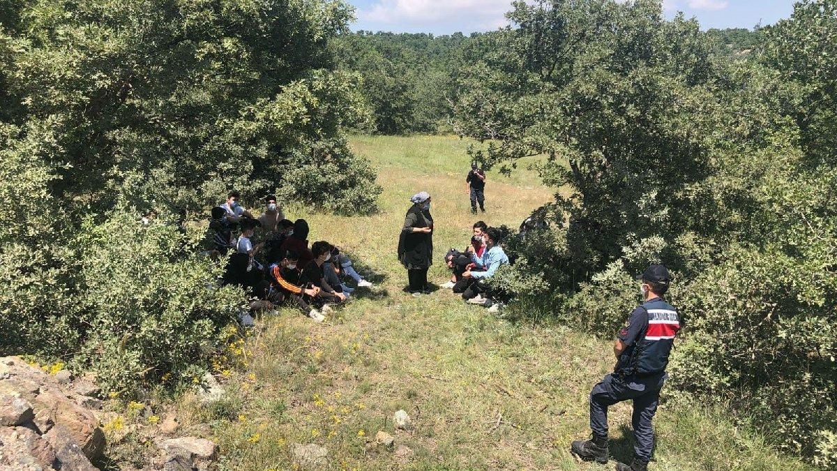 Kaçak göçmenleri 'yurt dışı' diye Eskişehir'e bırakmışlar