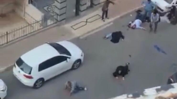 7 kişiyi tüfekle vurup otomobille çarptılar