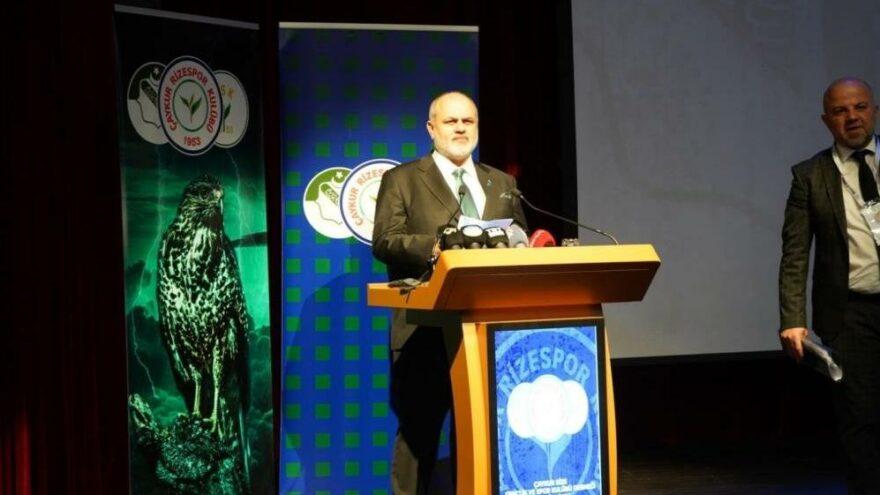 Çaykur Rizespor'un yeni başkanı Tahir Kıran oldu