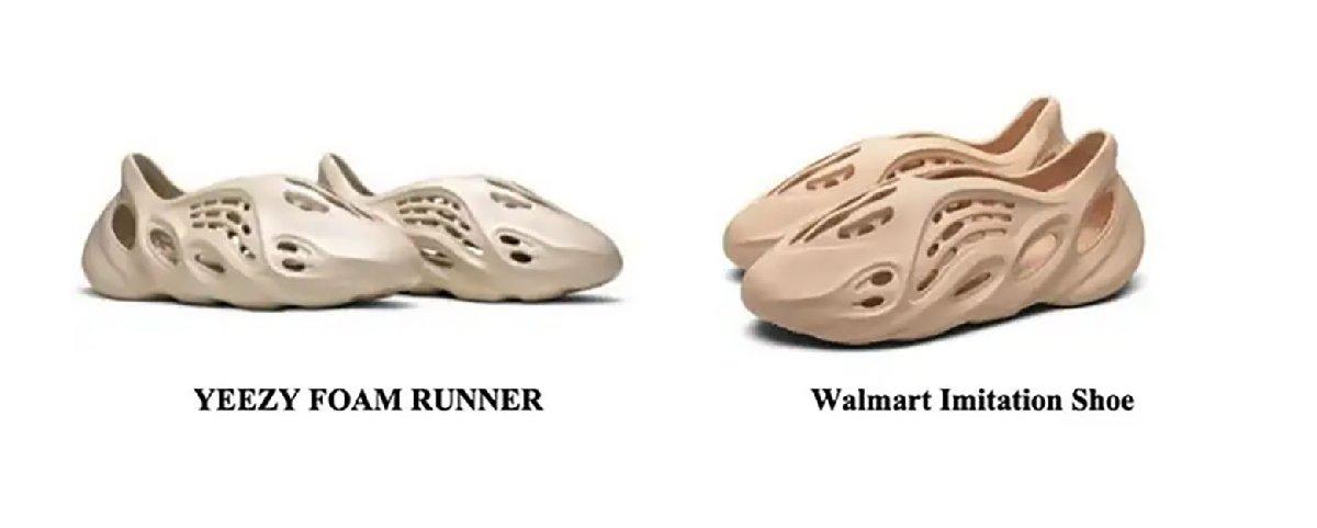 Kanye West, ABD'li perakende devi Walmart'a taklit ayakkabı davası açtı