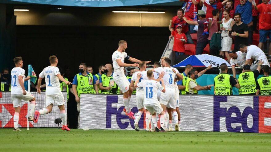 EURO 2020'de büyük sürpriz! Çekya, Hollanda'yı evine yolladı: 0-2