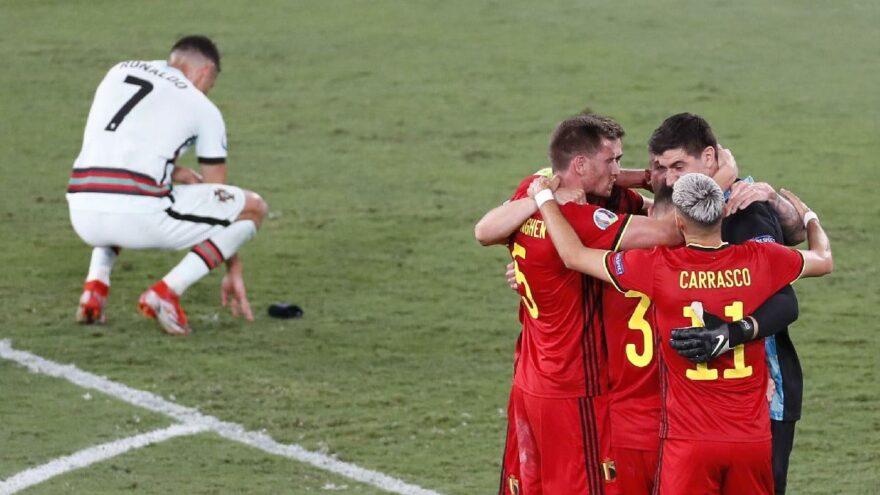 Ronaldo'lu son şampiyon Portekiz, Belçika'ya diş geçiremedi: 1-0
