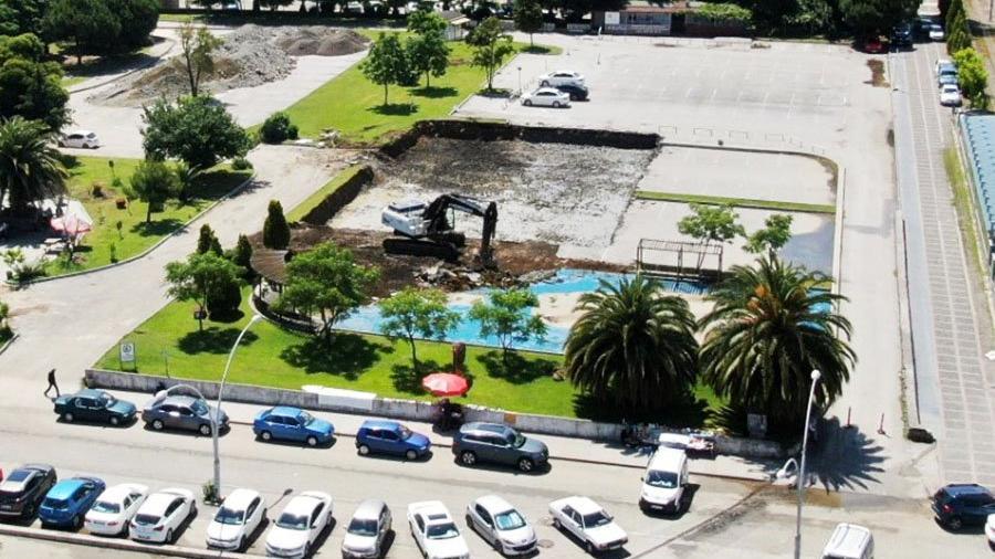 AKP'li belediye parkı yıkıp terminal yapıyor