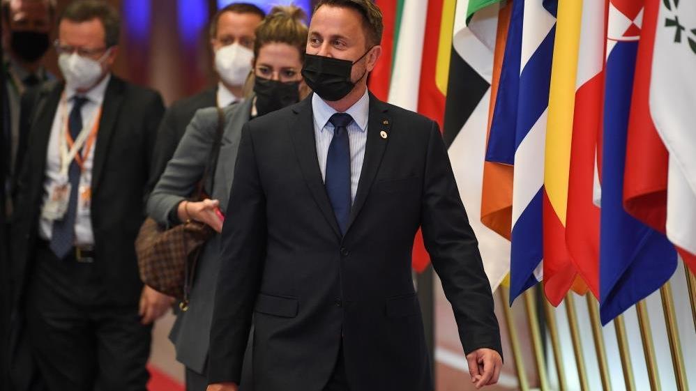 Lüksemburg Başbakanı Bettel'in corona testi pozitif çıktı