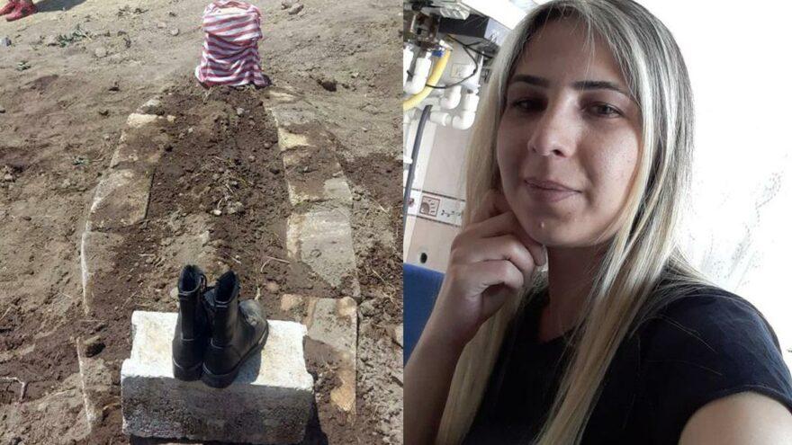 Hiç giyinmediği botları mezarının başına koyuldu