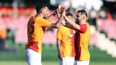 Galatasaray hazırlık maçında Dinamo Bükreş'i mağlup etti: 2-1