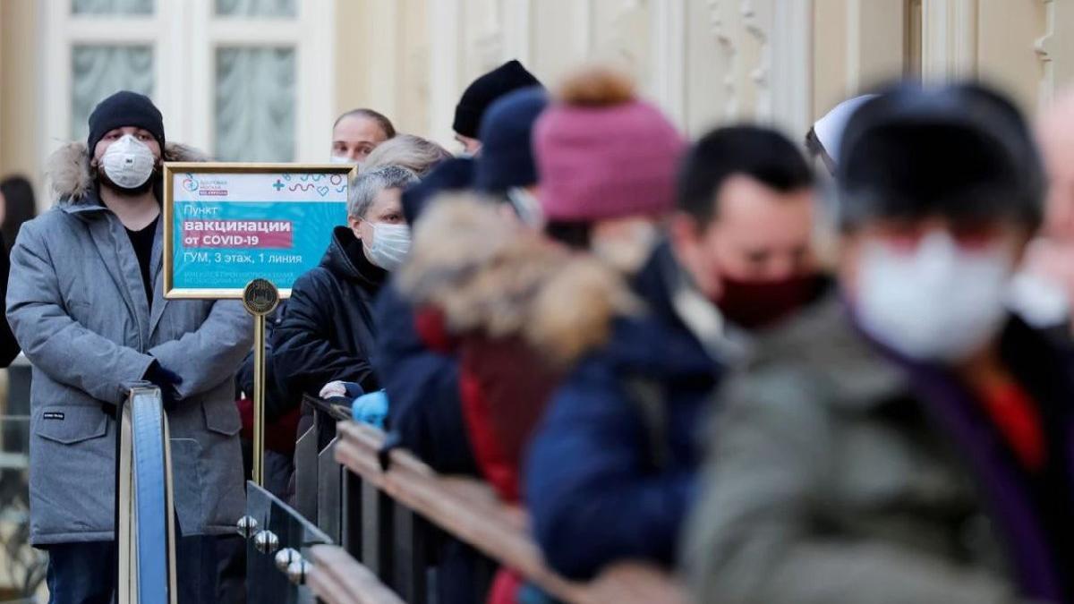 Rusya'da 20 binden fazla günlük vaka tespit edildi