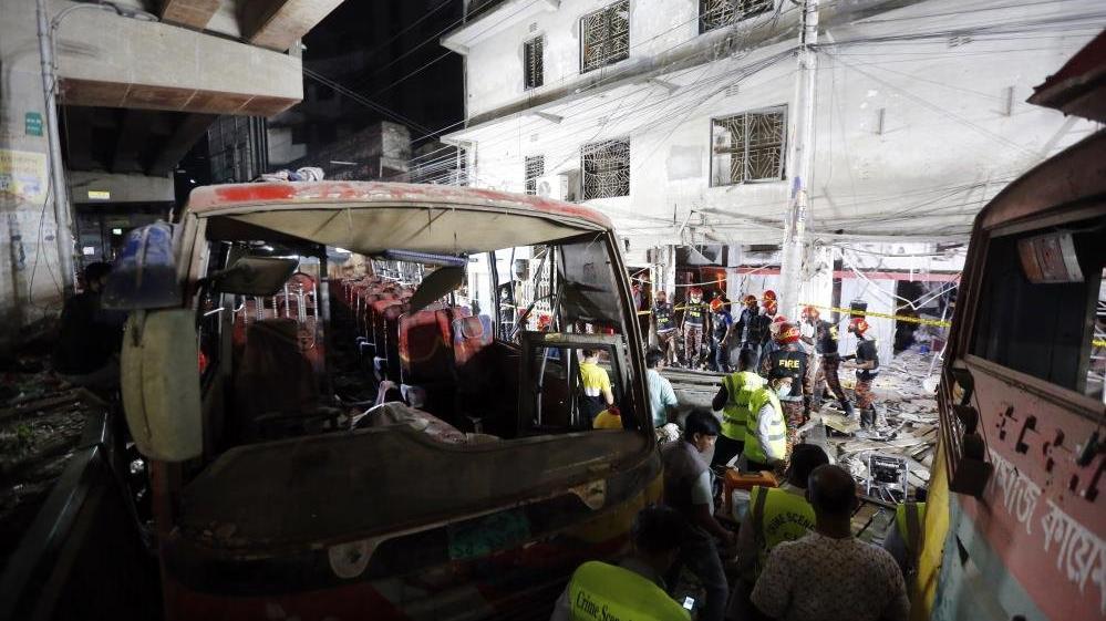 Bangladeş'te patlama! Ölü ve yaralılar var