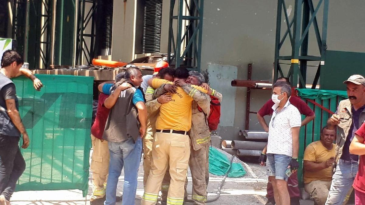 Marmaris'te orman yangını: 1 işçi şehit, 1 polis yaralı