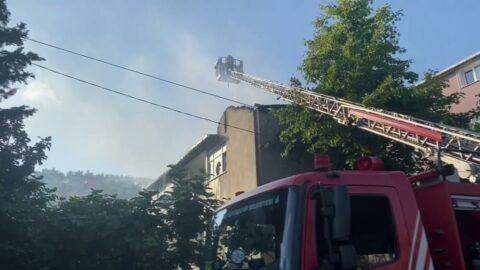 Beykoz'da korkutan ev yangını