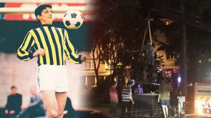 Kadıköy'e bir heykel daha: Sinyor Can Bartu