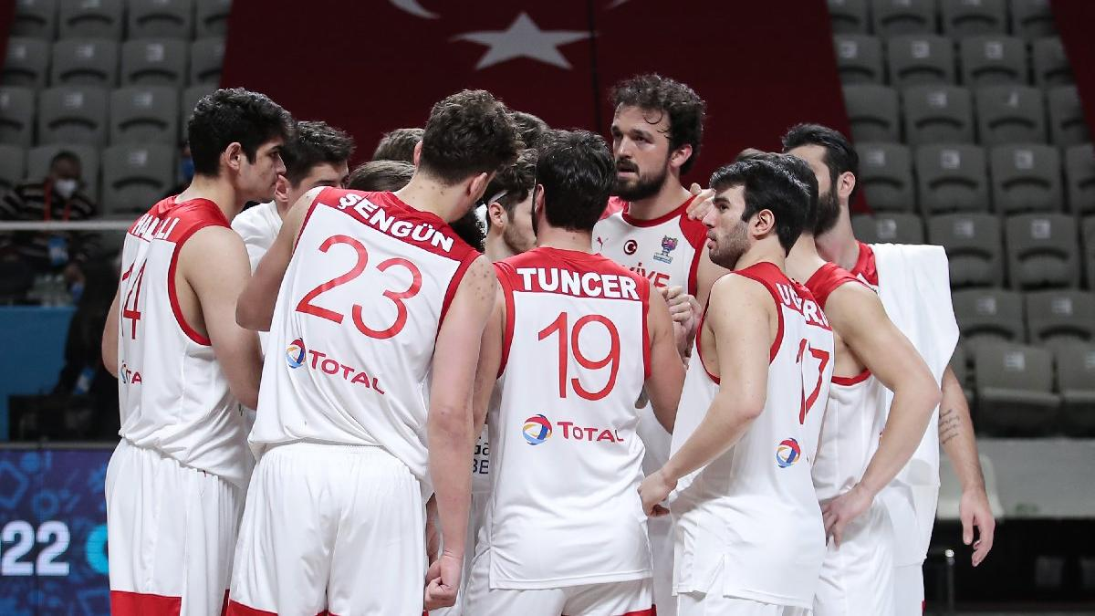 Türkiye A Milli Erkek Basketbol Takımı'nın Olimpiyat Elemeleri kadrosu açıklandı