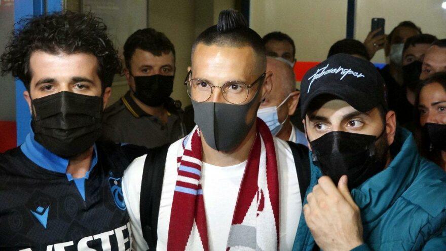 Trabzonspor'un yeni transferi Hamsik, kente geldi