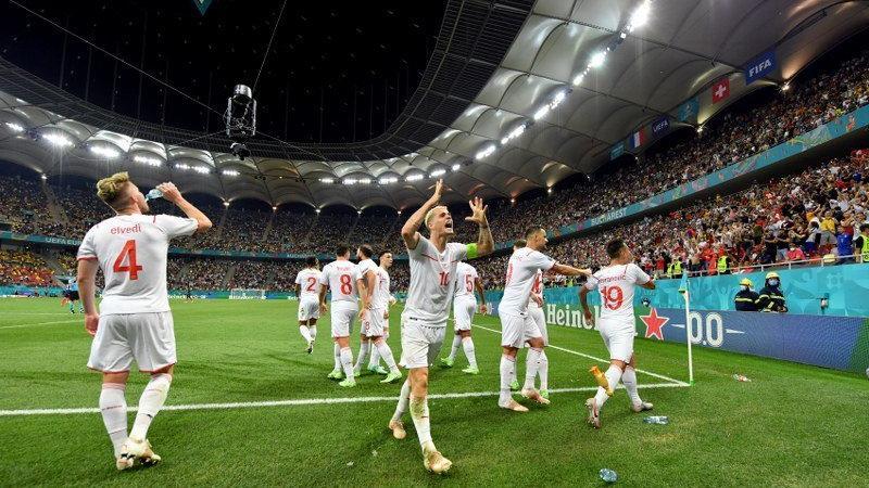 Fransa kaçtı İsviçre yakaladı çeyrek final bileti penaltılarla geldi