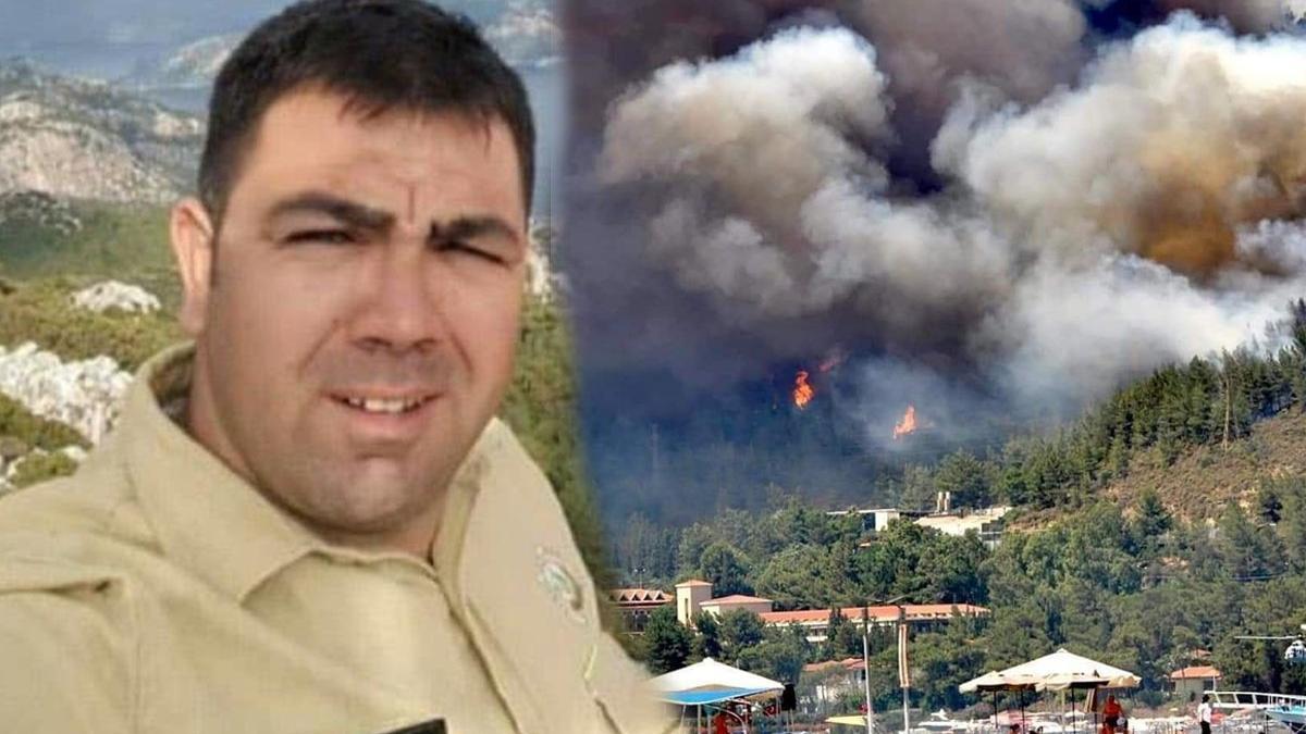 """Marmaris'te yanan alana """"Görkem Hasdemir"""" adı verilecek, imara açılmayacak"""