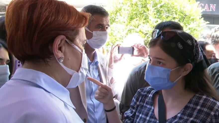 Genç kız gözyaşları içinde Akşener'e seslendi: Türkiye'de yaşamak istemiyorum!
