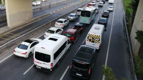 Son yasağın ardından trafik durma noktasına geldi